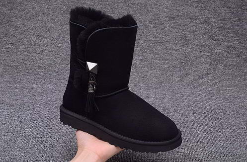 UGG 1003850 drop ornament Black