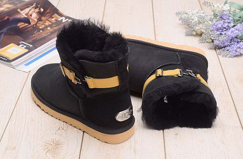 UGG 1011252 with belt Black