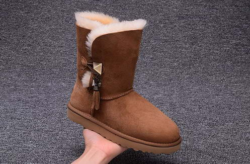 UGG 1003850 drop ornament Chesnut