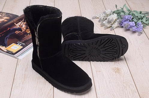 UGG 1013165 Side zipper Black