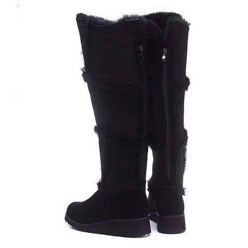 UGG 1008707 Over Knee high heel boots Black