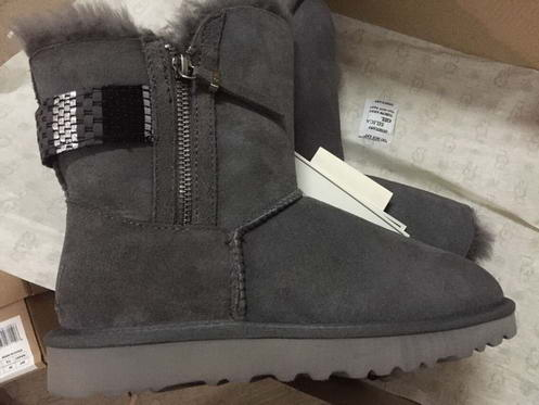 UGG 1011238 Double Side zipper Grey