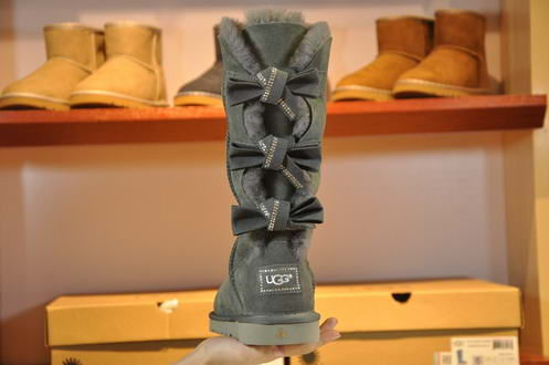 UGG 1008148 Diamond Butterfly crus Grey