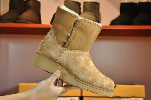 UGG 1012497 wedge heel Chesnut