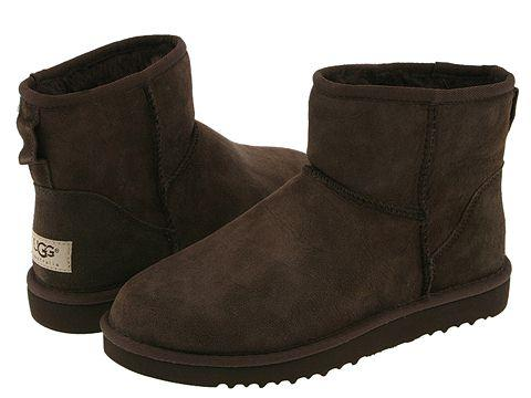 Classic Mini Chocolate Boots 5854