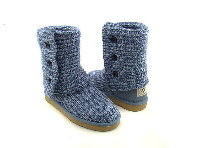 Classic Cardy Blue Boots 5819