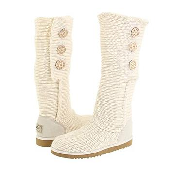 Classic Cardy Cream Boots 5819