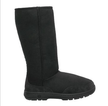 Ultra Tall Black Boots 5245