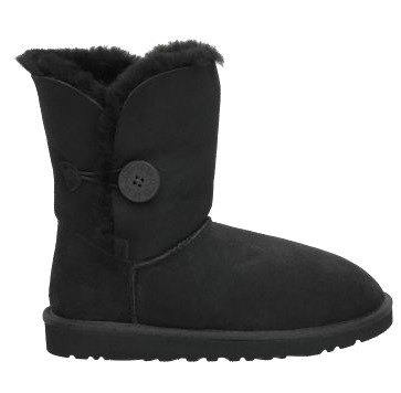Beiley Button Black Boots 5803