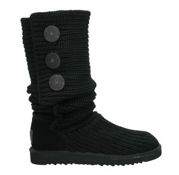 Classic Cardy Black Boots 5819