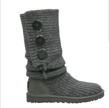 Classic Cardy Grey Boots 5819