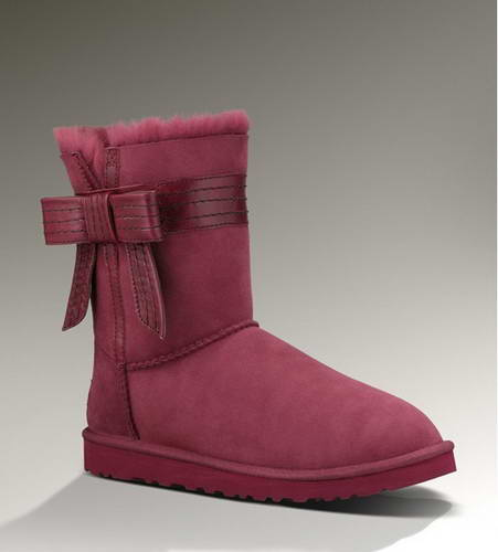 2015 new arrival UGG 1003174 butterfly claret red