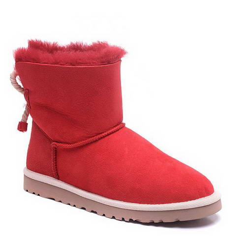 2015 new arrival UGG 1006493 hemp rope red