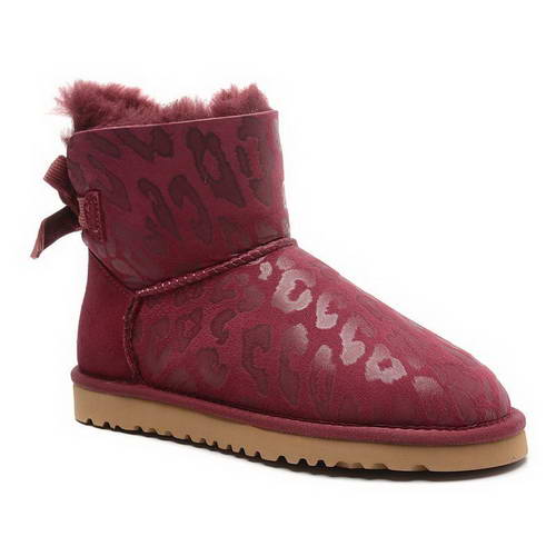 2015 new arrival UGG 1006058 leopard claret red